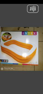 Intex Inflatable Swimming Pool Mandarin Size 2.29m X 1.47m X 46cm | Sports Equipment for sale in Lagos State, Surulere