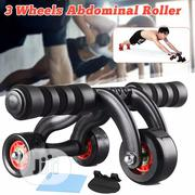 New Durable Ab Wheels Rollers With Push Up | Sports Equipment for sale in Lagos State, Surulere