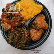 Jollof/Fried Rice And Salad With Chicken/Beef | Meals & Drinks for sale in Anambra State, Nnewi