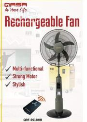 Qasa Rechargeable Fan | Home Appliances for sale in Lagos State, Ojo