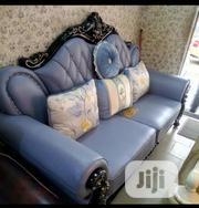 Royal Wooden Italian Leather Material By7 (1+1+2 +3)   Furniture for sale in Lagos State, Lekki Phase 1