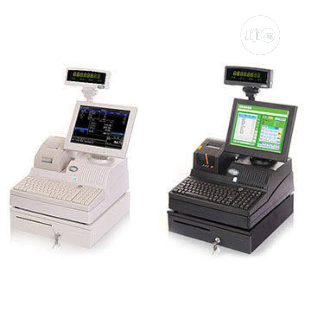 Smart Cash Register, POS Terminal With Barcode Scanner