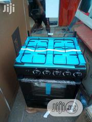 Brand New Midea Standing 4buners 60 by 60cm Gas Cooker With Oven   Kitchen Appliances for sale in Lagos State, Ojo