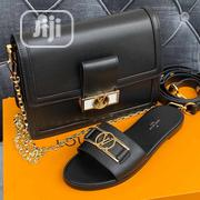 Louis Vuitton Bag and Slippers | Shoes for sale in Lagos State, Lekki Phase 2