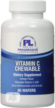 Progressive Labs Vitamin C Chewable Tablets, 60 Count | Vitamins & Supplements for sale in Lagos State, Ojo
