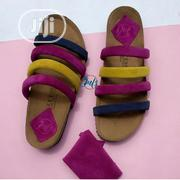 Contrast Stripe Ladies Slippers | Shoes for sale in Lagos State, Alimosho