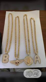 18karat Twist Chains With Different Type of Pendant Is Available | Jewelry for sale in Lagos State, Yaba