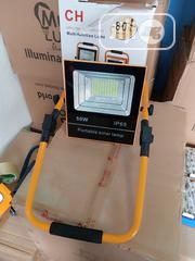 50w Portable Solar Flood Light With USB   Solar Energy for sale in Lagos State, Ojo
