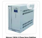 15kva Mercury 3phase Automatic AC Servo Stabilizer | Electrical Equipment for sale in Lagos State, Lagos Island