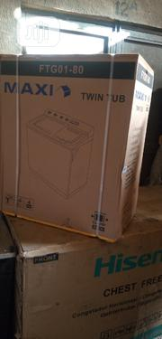 Maxi 8kg Twin Tub Washing Machines WM/ FTG01-80 | Home Appliances for sale in Lagos State, Ojo