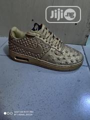 Nike Airforce Gold Brown | Shoes for sale in Abuja (FCT) State, Kubwa