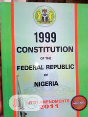 1999 Constitution Of The Federal Republic Of Nigeria | Books & Games for sale in Lagos State, Surulere
