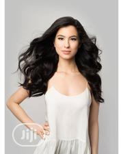 Cute Wavy Human Hair Wig With Closure   Hair Beauty for sale in Lagos State, Ikeja
