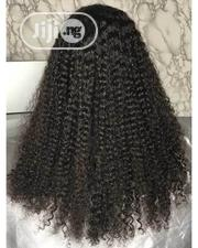 Unique Curly Human Hair Wig With Frontal | Hair Beauty for sale in Lagos State, Ikeja