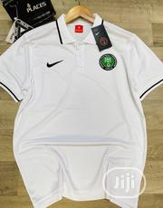 Nigeria Super Eagles Official White Polo Shirt | Clothing for sale in Lagos State, Surulere