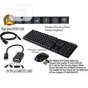2.4ghz Wireless Keyboard Mouse | Computer Accessories  for sale in Lagos State, Ikeja