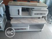 Cream Colour Centre Table And Tv Stand   Furniture for sale in Lagos State, Ojo