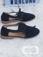 Ladies Black Loafers With Lace | Shoes for sale in Lagos State, Ajah