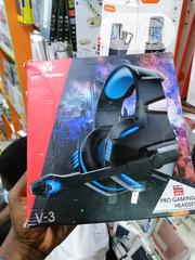 Xbox One / Ps4 Gaming Headset V-3 Hunterspider | Headphones for sale in Lagos State, Ikeja