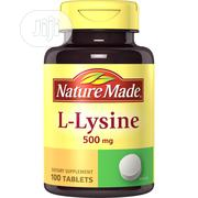Nature Made L-Lysine 500 Mg - 100 Tablets | Vitamins & Supplements for sale in Lagos State, Alimosho