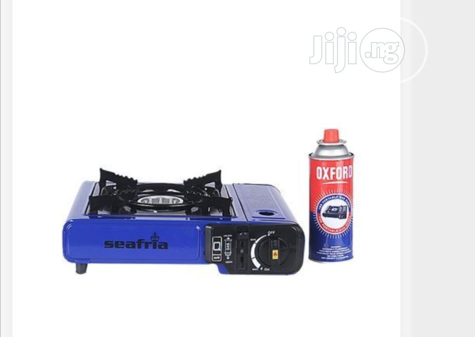 Portable Gas Stove With 1 Free Gas Cartridge | Kitchen Appliances for sale in Mushin, Lagos State, Nigeria