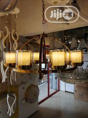 Gold Chandelier With Bulb   Home Accessories for sale in Lagos State, Ojo