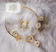 Three Tone 4 Piece Jewellery Set | Jewelry for sale in Lagos State, Surulere