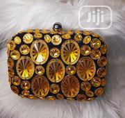 Black And Yellow Clutch Bag | Bags for sale in Lagos State, Surulere
