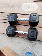 A Pair 7.5kg Hex Dumbbell   Sports Equipment for sale in Lagos State, Gbagada