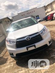 Toyota Highlander 2016 XLE V6 4x4 (3.5L 6cyl 6A) White | Cars for sale in Lagos State, Alimosho