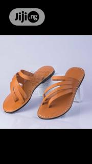 Quality Handmade Leather Slippers | Shoes for sale in Lagos State, Mushin