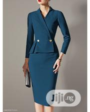 Stylish Quality Gown With Front Button | Clothing for sale in Lagos State, Ikeja