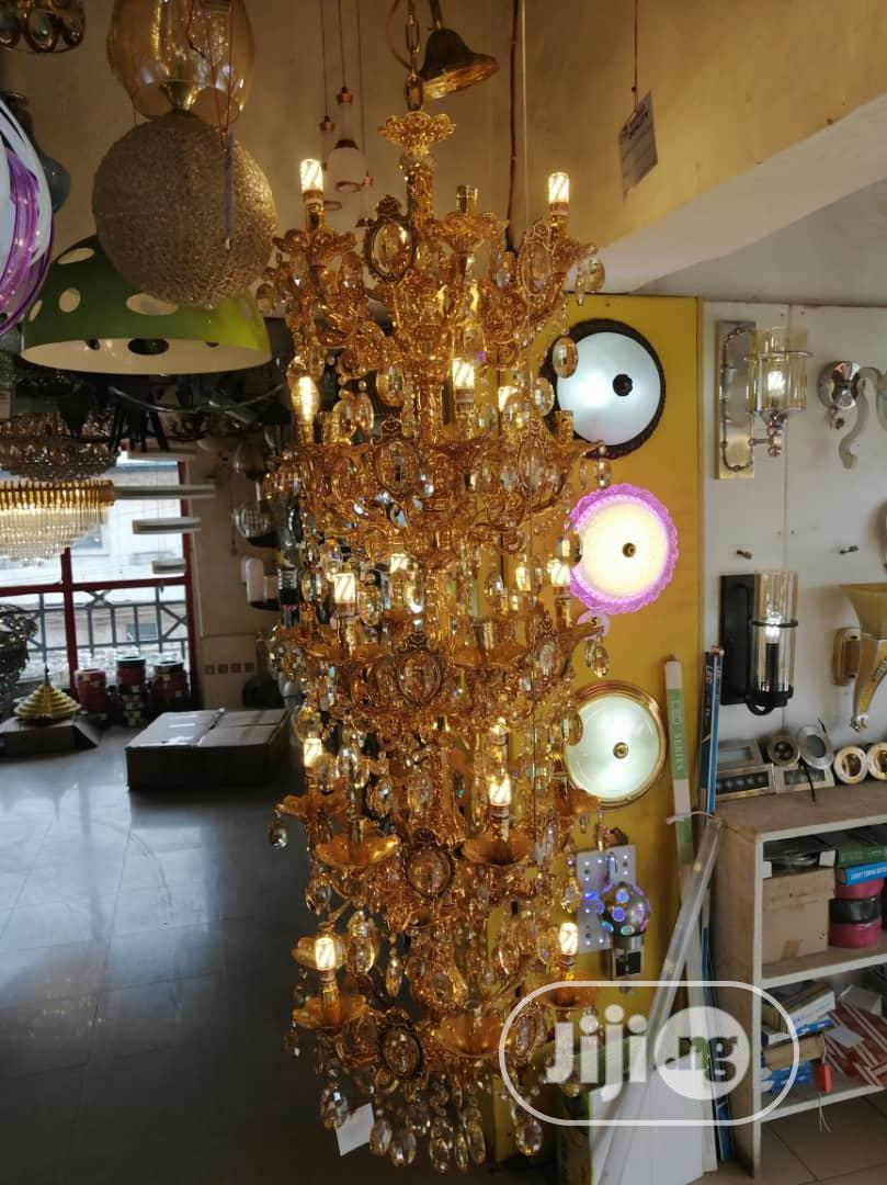 Candle Crystal Chandelier