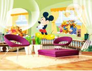 Where to Buy Kiddies Animated 3d, 5d,8d, Custom Wall Mural in Nigeria | Home Accessories for sale in Lagos State, Yaba