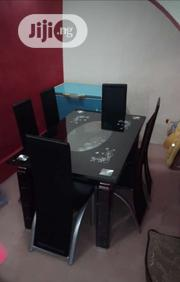 High Quality Glass Dining Table With 6 Chairs   Furniture for sale in Lagos State, Ikorodu