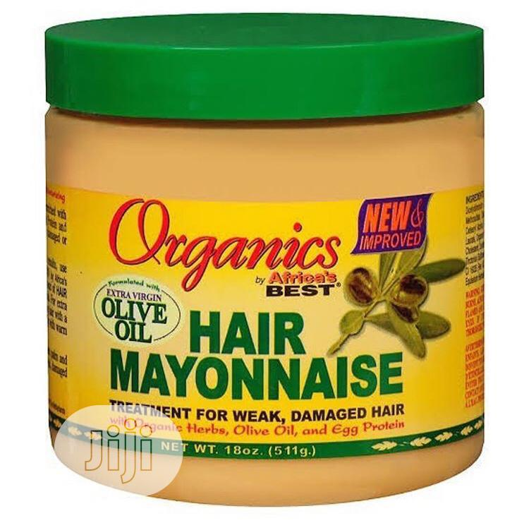 Organic Hair Mayonnaise