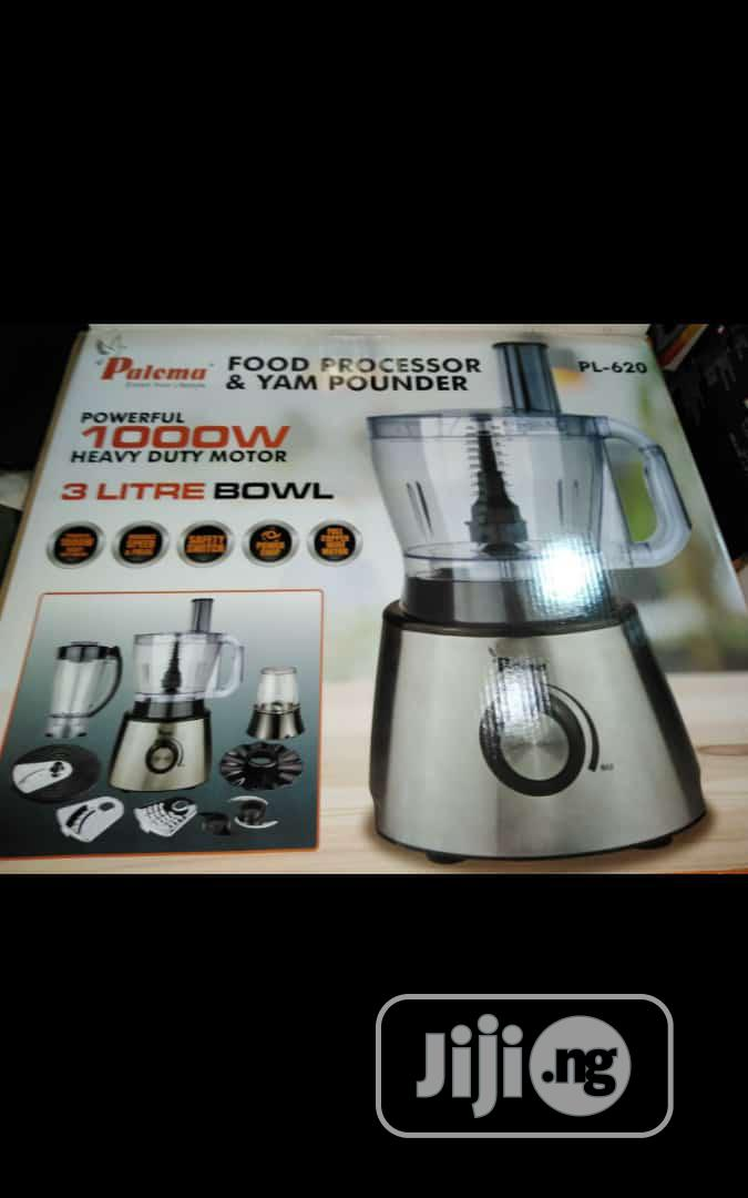 PALOMA 3L Yam Pounder and Food Processor
