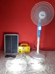 Solar Generator With DC Standing Fan and Bulbs | Solar Energy for sale in Ogun State, Abeokuta North