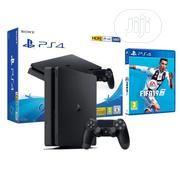 PS4 Slim 500gb Sony Playstation 4 Console Black | Video Game Consoles for sale in Lagos State, Ikeja