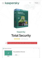 Kaspersky Total Security 2020 Licence Key For PC & Mac | Software for sale in Lagos State, Ikeja