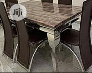 Marble Dining Set ( 6 Seaters) | Furniture for sale in Lagos State, Ikeja
