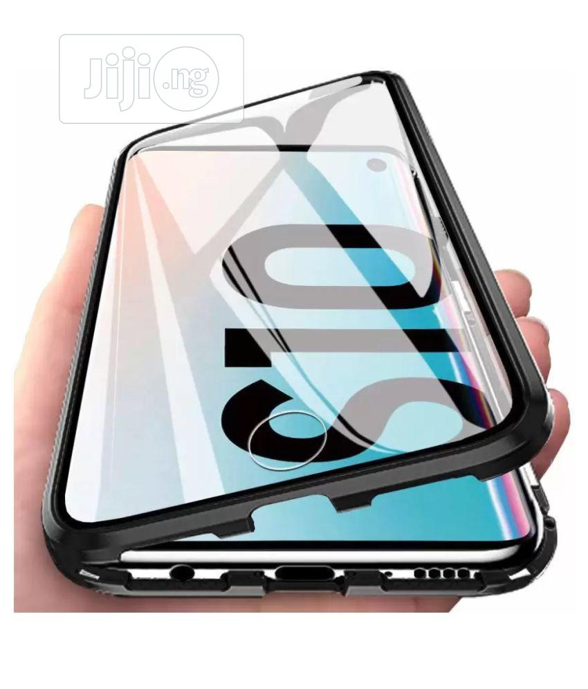 Galaxy S10 Plus Metal Case, Ultra Slim Strong Magnetic Adsorption Meta   Accessories for Mobile Phones & Tablets for sale in Ikeja, Lagos State, Nigeria