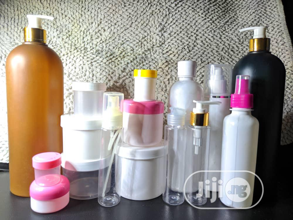 Containers For Skincare And Disinfectant Packaging