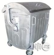 1100 Litre Galvanized Metal Waste Container With Dome Lid | Manufacturing Equipment for sale in Lagos State, Ajah