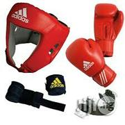 New Boxing Head Guard,Gloves, Bandage And Toothguard | Sports Equipment for sale in Rivers State, Port-Harcourt