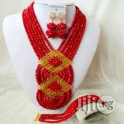 Coral Beads Necklace Earrings And Bracelet Jewelry 3 | Jewelry for sale in Plateau State, Jos