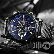 Original Black Net Chain Naviforce Water Resistant | Watches for sale in Lagos State, Lagos Island