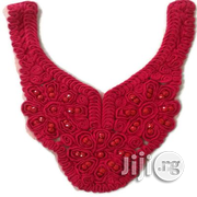 Tailornimi Beaded Neckline Embellishment Red | Jewelry for sale in Lagos State