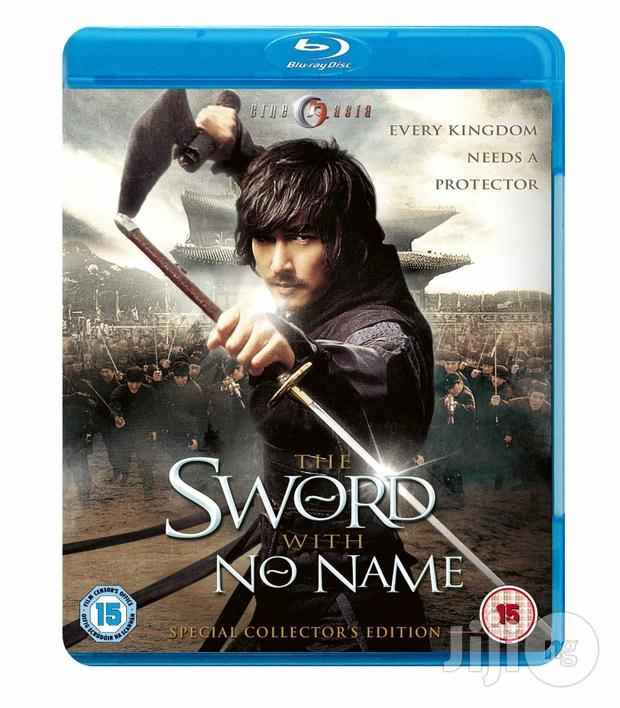 BRAND NEW The Sword With No Name (Blu-ray/DVD Combo)[ORIGINAL]