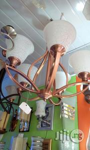 Five Hands Copper Color Chanderlier Light | Home Accessories for sale in Lagos State, Ikoyi